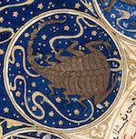 L0040139 Scorpio - Horoscope from 'The book of birth of Iskandar""
